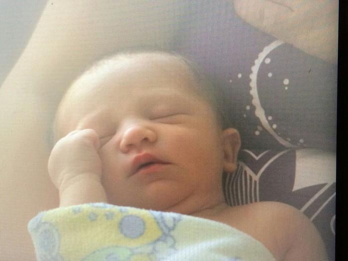 Lucas, né le 4 octobre 2014