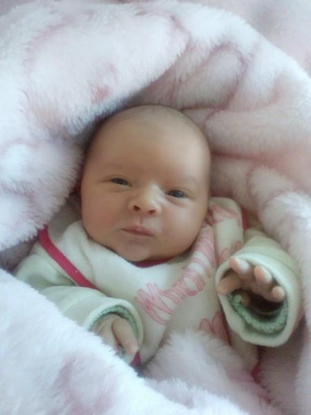 Maëline, née le 15 octobre 2014