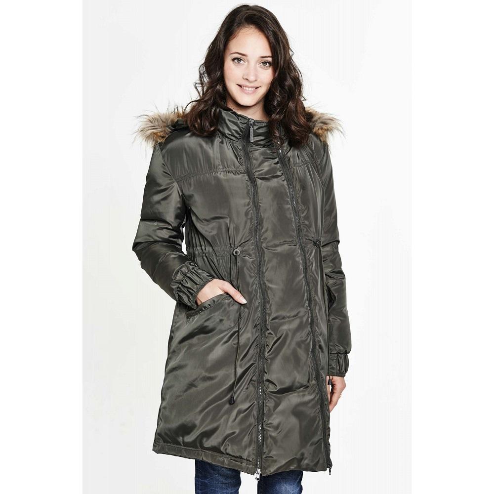 Manteau de grossesse et de portage, Belly Button, 259€.
