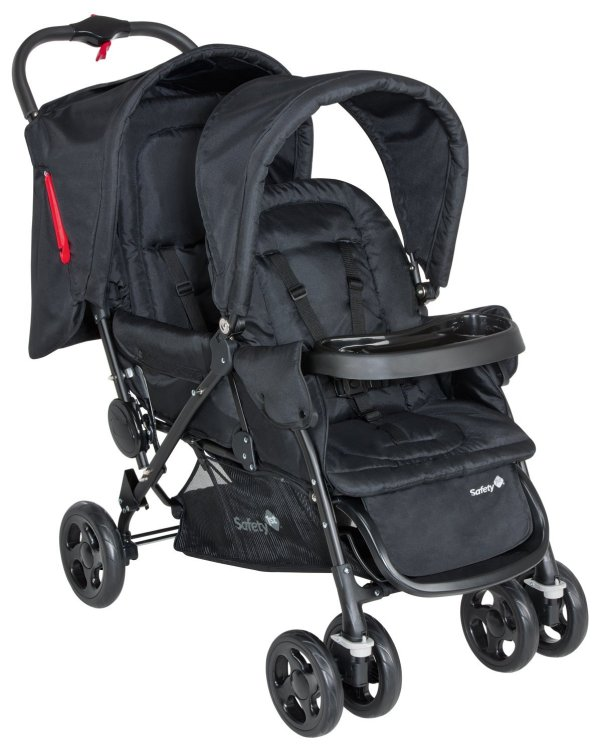 Safety 1st Poussette Tandem Duodeal Full Black Collection 2015