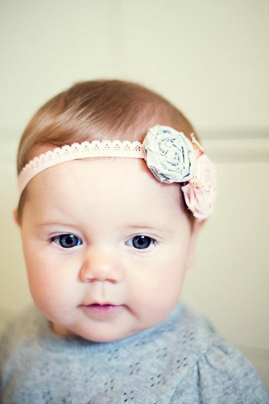 diy headband serre tete bebe coiffure