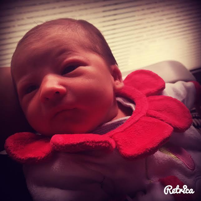 Anna, née le 16 juillet 2015