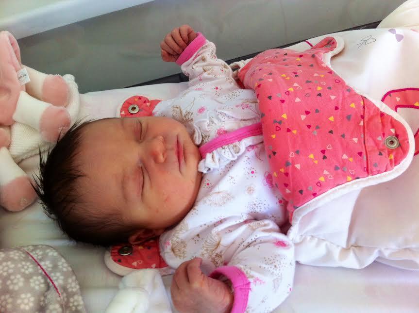 Léa, née le 8 juillet 2015