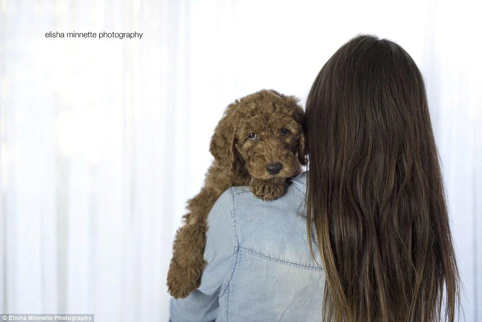seance photo matt aby et leur chien 1