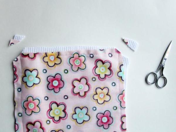 La decoupe des bouts de serviette
