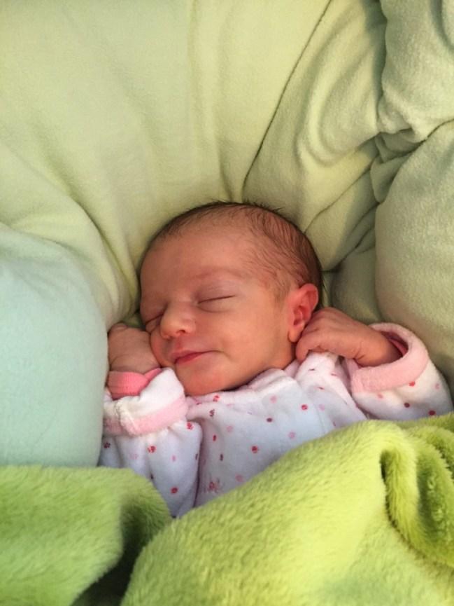 Camille, née le 16 février