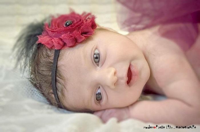 Célia, née le 4 mars
