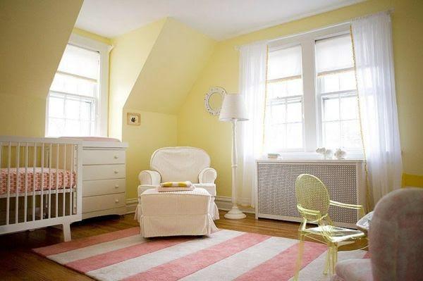 Emejing Chambre Jaune Pastel Gallery - House Design - marcomilone.com