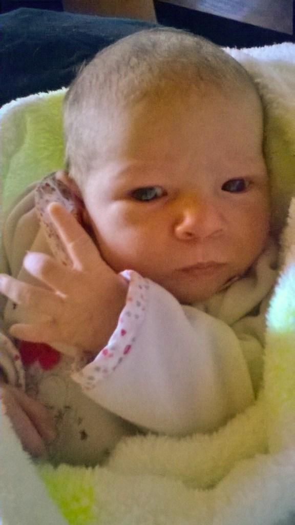 Naëlya, née le 20 avril