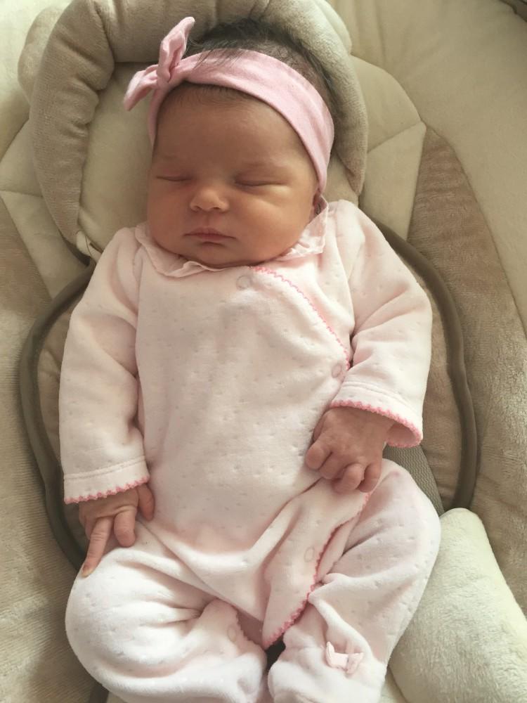 Zoé, née le 16 avril