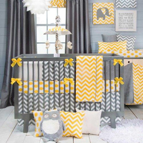 Chambre Bebe Jaune Gris Bleu - Décoration de maison idées de design ...