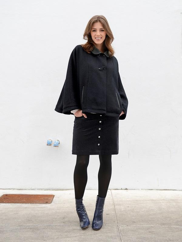 jupe velours de grossesse Colline Vertbaudet