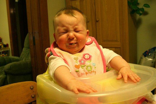 Quotidien des parents - bebe nourriture