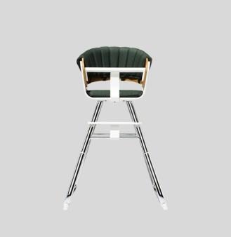 chaise haute green