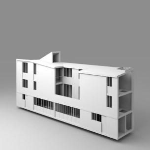 CONSTRUCTION DE DEUX MAISONS DE VILLE A PARIS 20