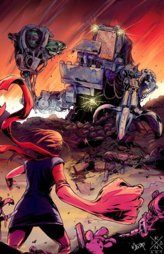 Poster de Ms. Marvel © 2016 Álvaro Ming e Ikan