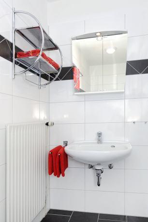 Waschtisch der Ferienwohnung Lulu Meinders