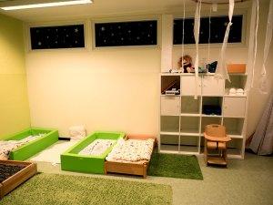 Kindergarten Flohkiste Flohzirkus Schlafraum