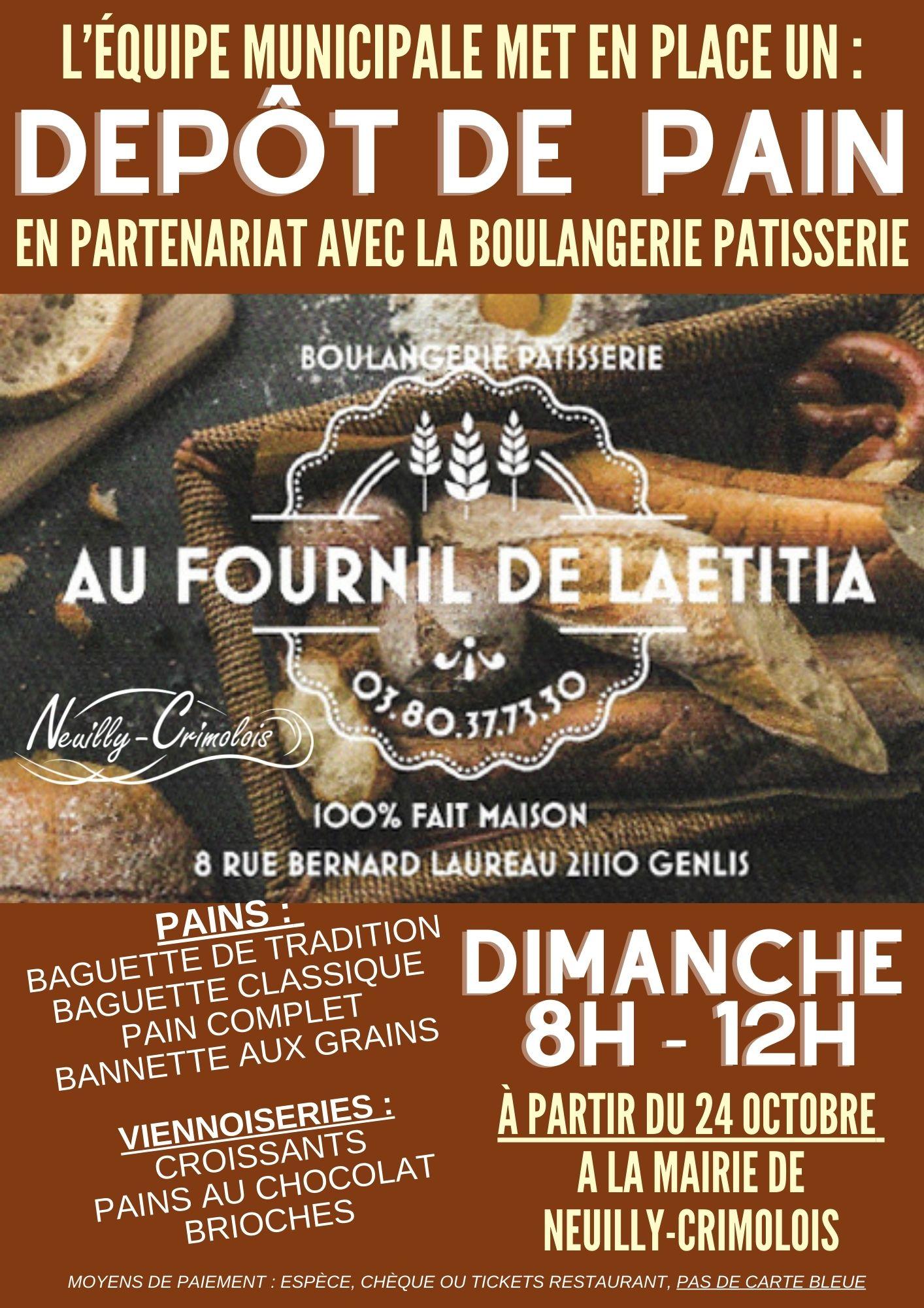Read more about the article N'oubliez pas : dimanche matin c'est pain et croissants !