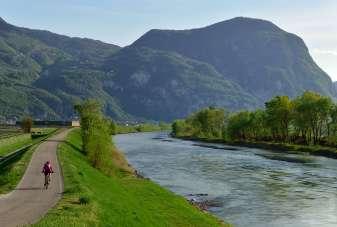 Der Radweg / la pista ciclabile