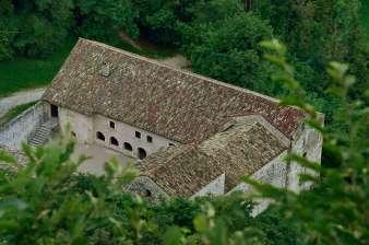 Luftbild des Klösterle