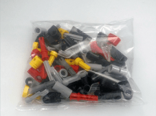 Lego Technic #42036 Street Motorcycle Pieces