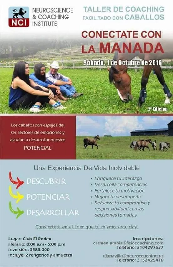 Flyer 01 OCT -  Neurocoaching facilitado con caballos