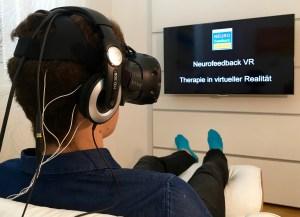 Neurofeedback in virtueller Realität (VR)