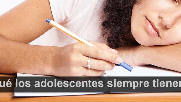 ¿Por qué los adolescentes siempre tienen sueño?