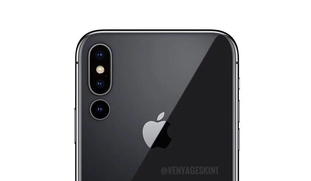 2019年、iPhone MaxはF値1.6のカメラが追加されトリプルレンズに?