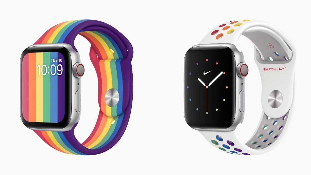 Apple、「watchOS 6.2.5」を正式公開。「プライドエディション」向けの文字盤が追加
