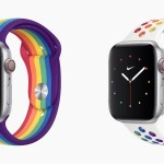 Apple、Apple Watch用の新しい「プライドエディション」バンドを発表