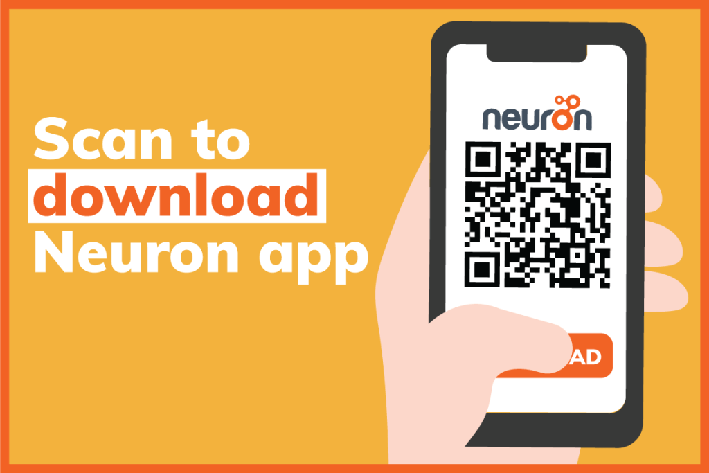Scan to download neuron app
