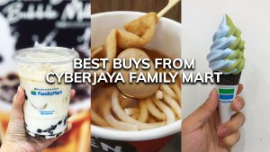 Best buys from Cyberjaya's Family Mart