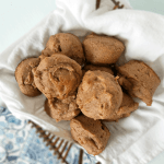 These Flourless Banana Nut Muffins are so amazing that you would never guess they're gluten-free, Paleo, vegan and made with Whole30 approved ingredients! Bananas provide all of the sweetness necessary, and psyllium provides the perfect texture along with plenty of fiber. Thanks to nutritious ingredients, these Flourless Banana Nut Muffins are both nutritious and satisfying!