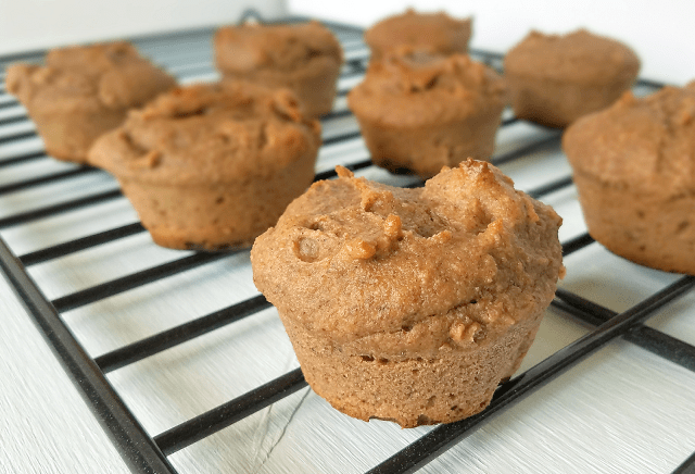 These Paleo Banana Nut Muffins are so amazing that you would never guess they're grain-free, Paleo, vegan and made with Whole30 approved ingredients! Bananas provide all of the sweetness necessary, and psyllium provides the perfect texture along with plenty of fiber. Thanks to nutritious ingredients, these Paleo Banana Nut Muffins are both nutritious and satisfying!