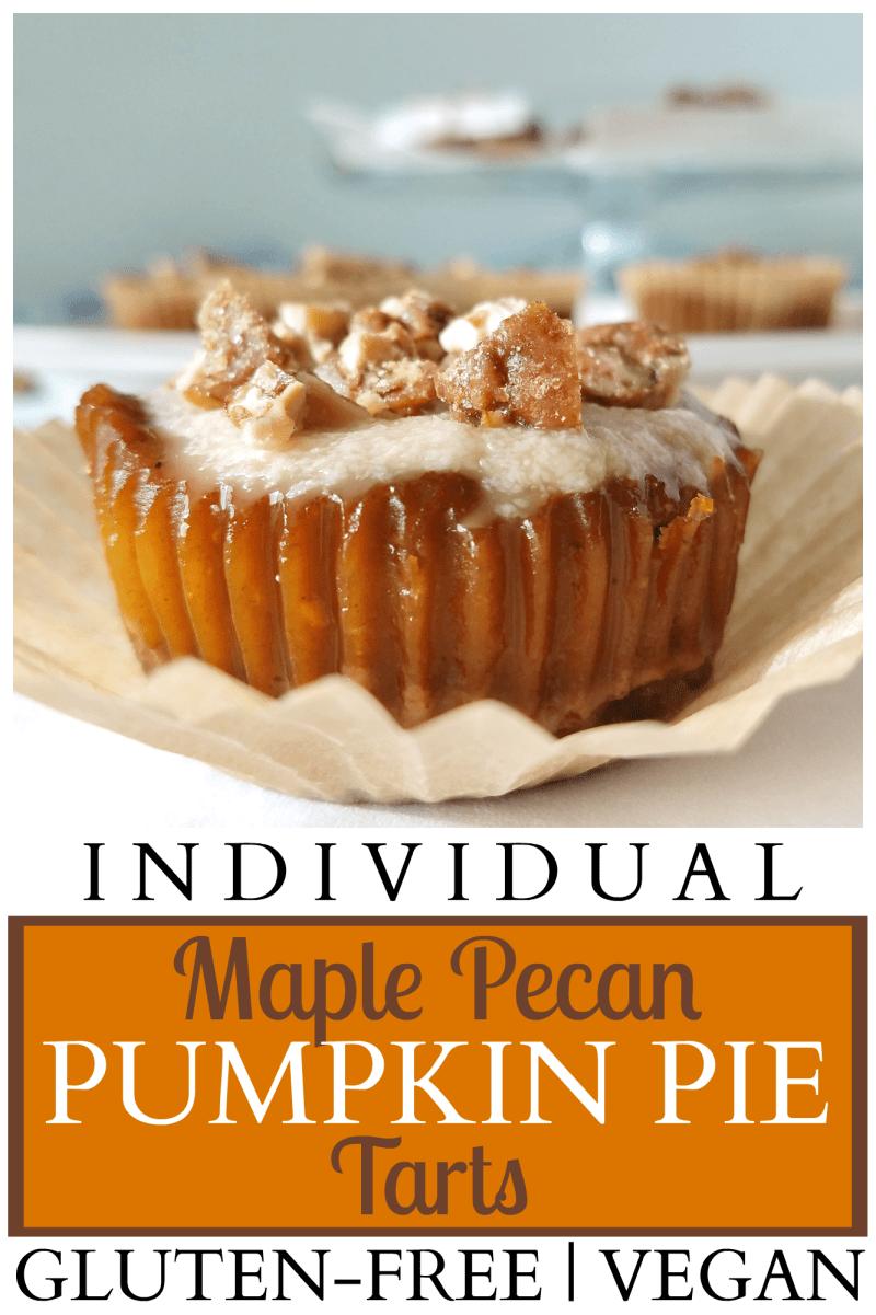 Individual Maple Pecan Pumpkin Pie Tarts