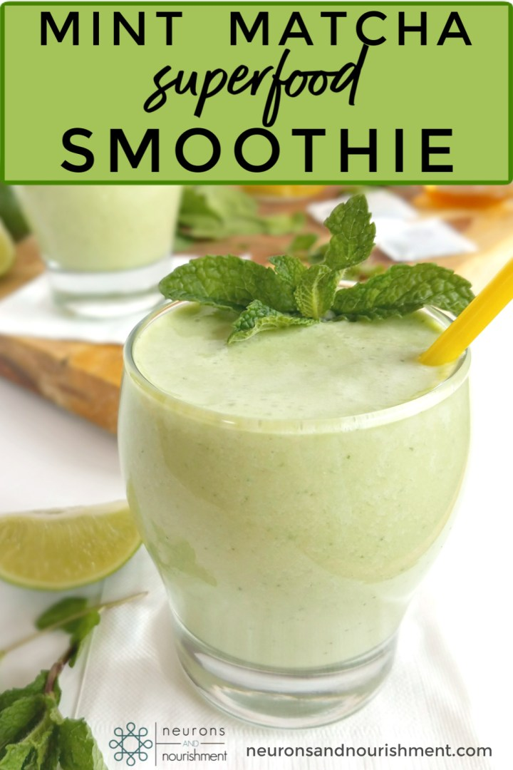 Mint Matcha Green Superfood Smoothie