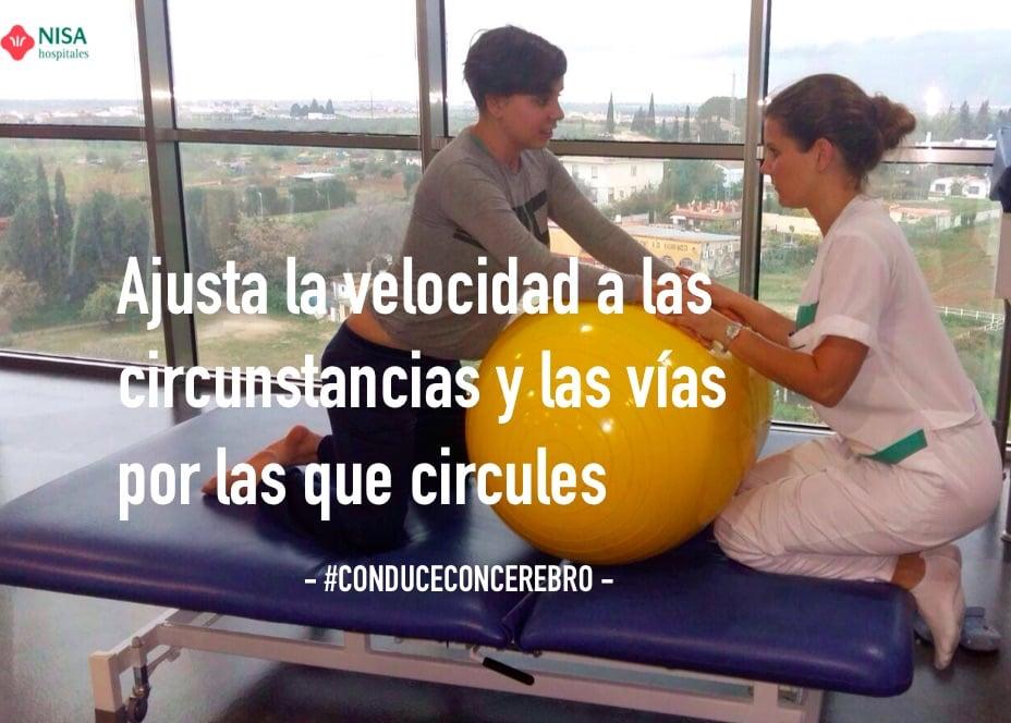 Primer Consejo de nuestro pacientes #ConduceConCerebro