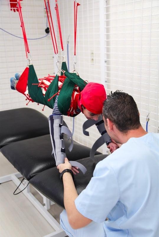 Tratamiento intensivo para pacientes con parálisis cerebral
