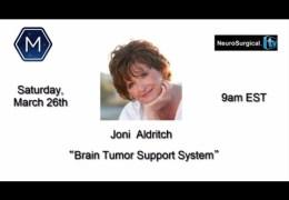 Joni Aldrich, Pulitzer Prize-Nominated Brain Cancer Support Veteran