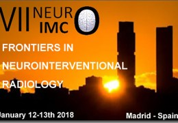 NeuroInterventional Radiology Conference from Madrid:  Tonight 2:30 am EST, 8:30 a.m. CET