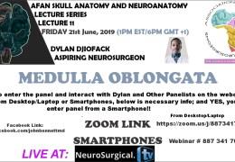 Future African Neurosurgeons presented #11 in Series of Neuranatomy