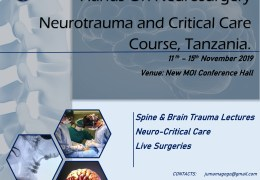 Tanzania Neurosurgery Conference Day #3 HERE, LIVE in less than Hour………HERE, LIVE……