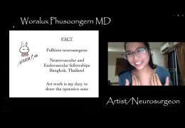 See Woralux talk about Neuroendovascular Fellowships in Asia
