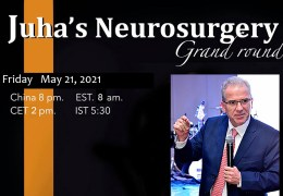 RECORDED LIVE…….Friday, May 21, 8 pm China Time, Juha China Neurosurgery Grand Rounds presents Luis Borba MD from Brazil