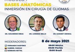 """Ahora, VIVO…………………………FLANC presenta Modulo 1: """"Bases Anatomicas: Inmersion en cirugia de Gliomas"""""""