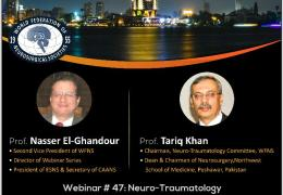 "WFNS/CAANS Collaboration on Friday, ""NeuroTrauma"""