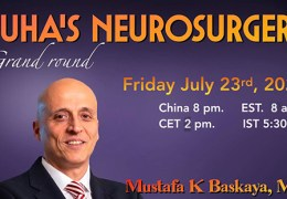 """RECORDED, LIVE, HERE Friday, July 23, 2021, 8 pm China Time, Mustafa Baskaya MD presented """"How to Safely Resect Cerebral Arteriovenous Malformations: Microsurgical Tips"""""""