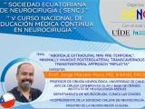 (GRABADO: 23/02/2021) VIVO, VIVO…………………Educacion Continua de Neurocirugia de Ecuador presenta Jorge Mura MD, de Chile